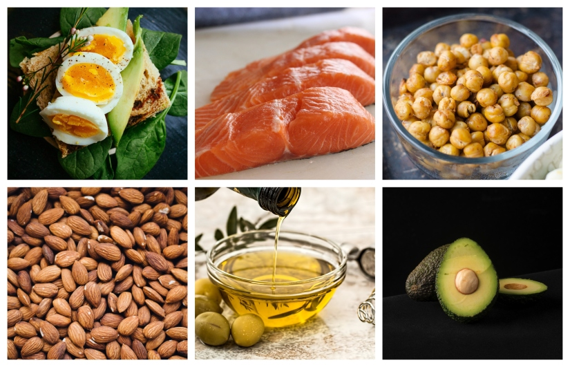 low carb healthy fats